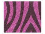 126 Purple Zebra Velvet