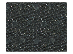 85 Silver Dots Black Fabric