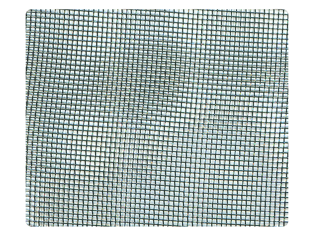 102 Black Mesh Fabric Swatch