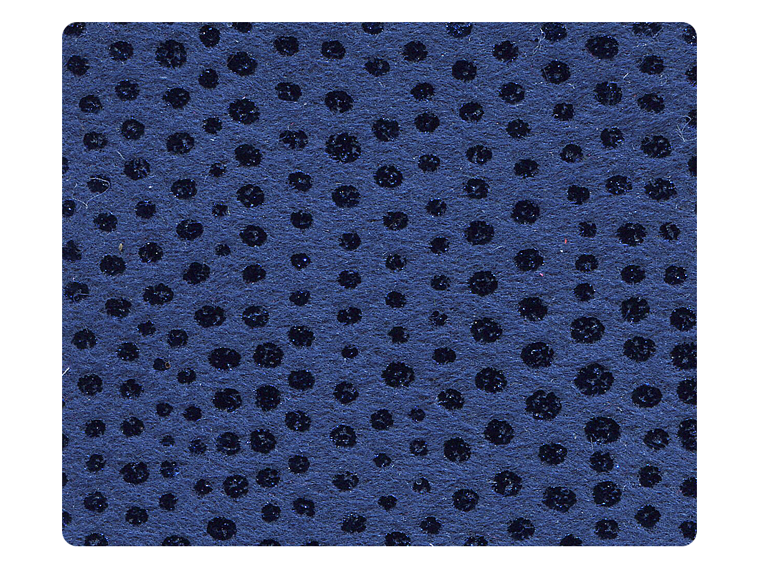 155 Illusion Dark Blue Velvet Fabric Swatch