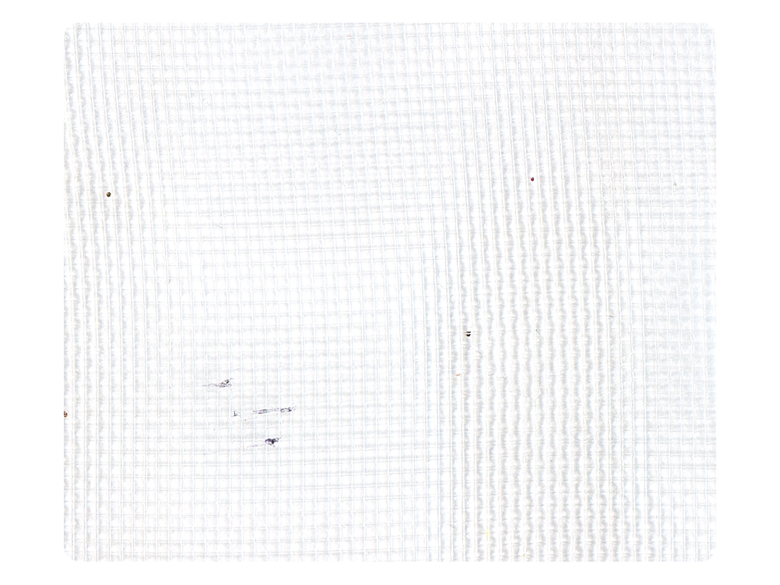 161 White Mesh Fabric Swatch