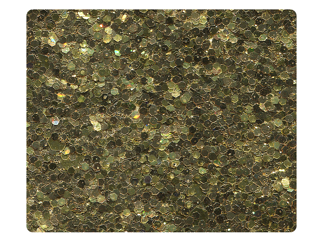 24 Gold Sparkle Fabric Swatch
