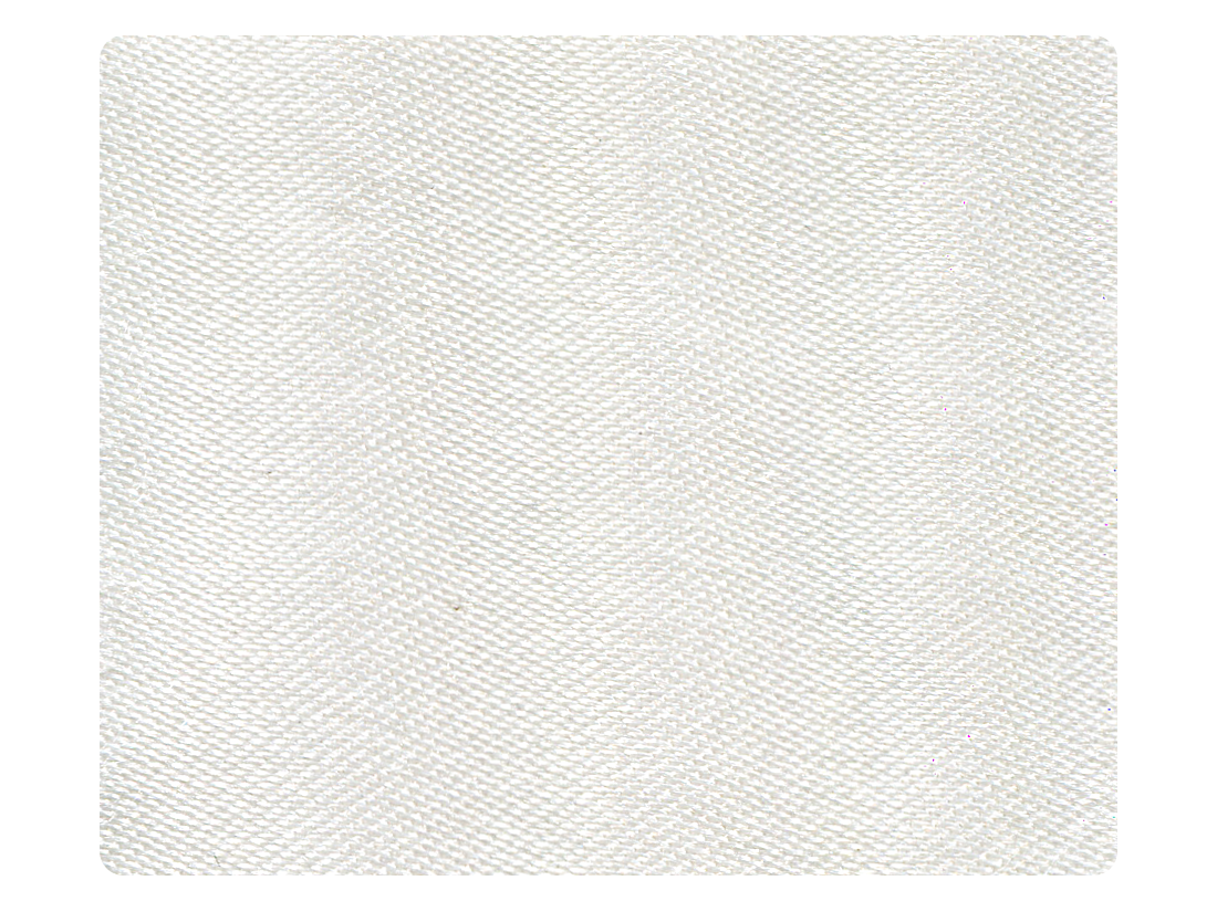 80 White Satin Fabric Swatch