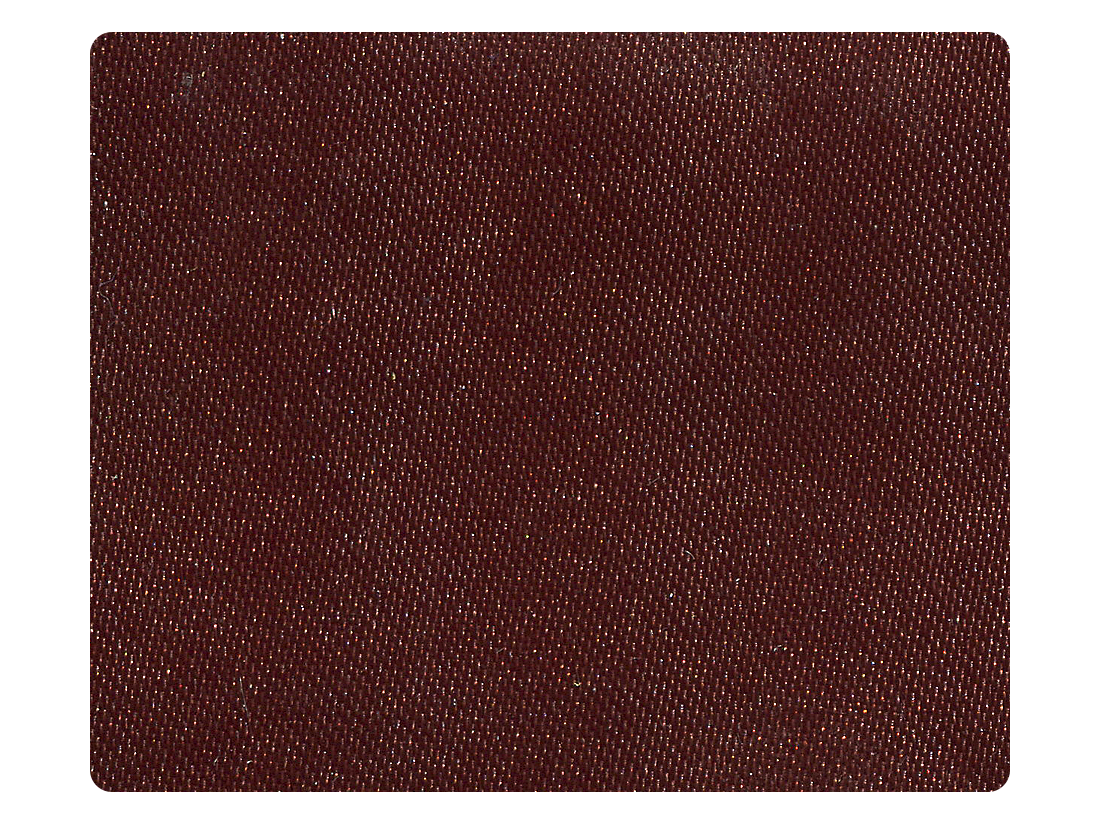 87 Dark Coffee Satin Fabric Swatch