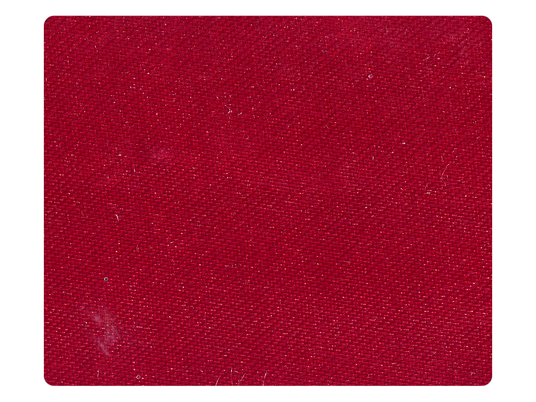 91 Dark Red Satin Fabric Swatch