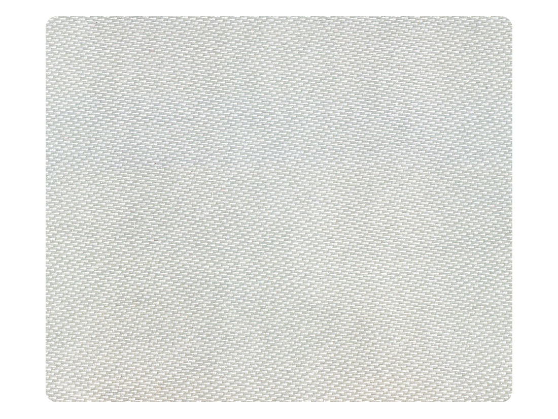 92 Creamy White Satin Fabric Swatch