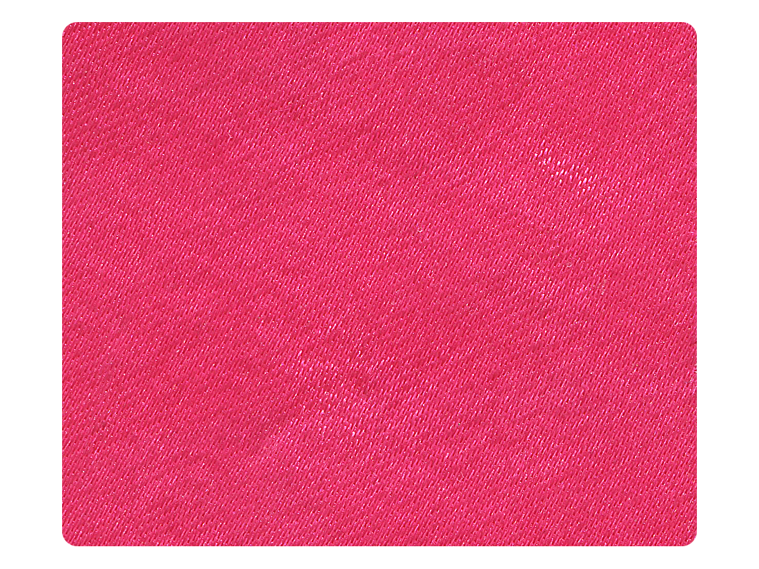 93 Pink Satin Fabric Swatch