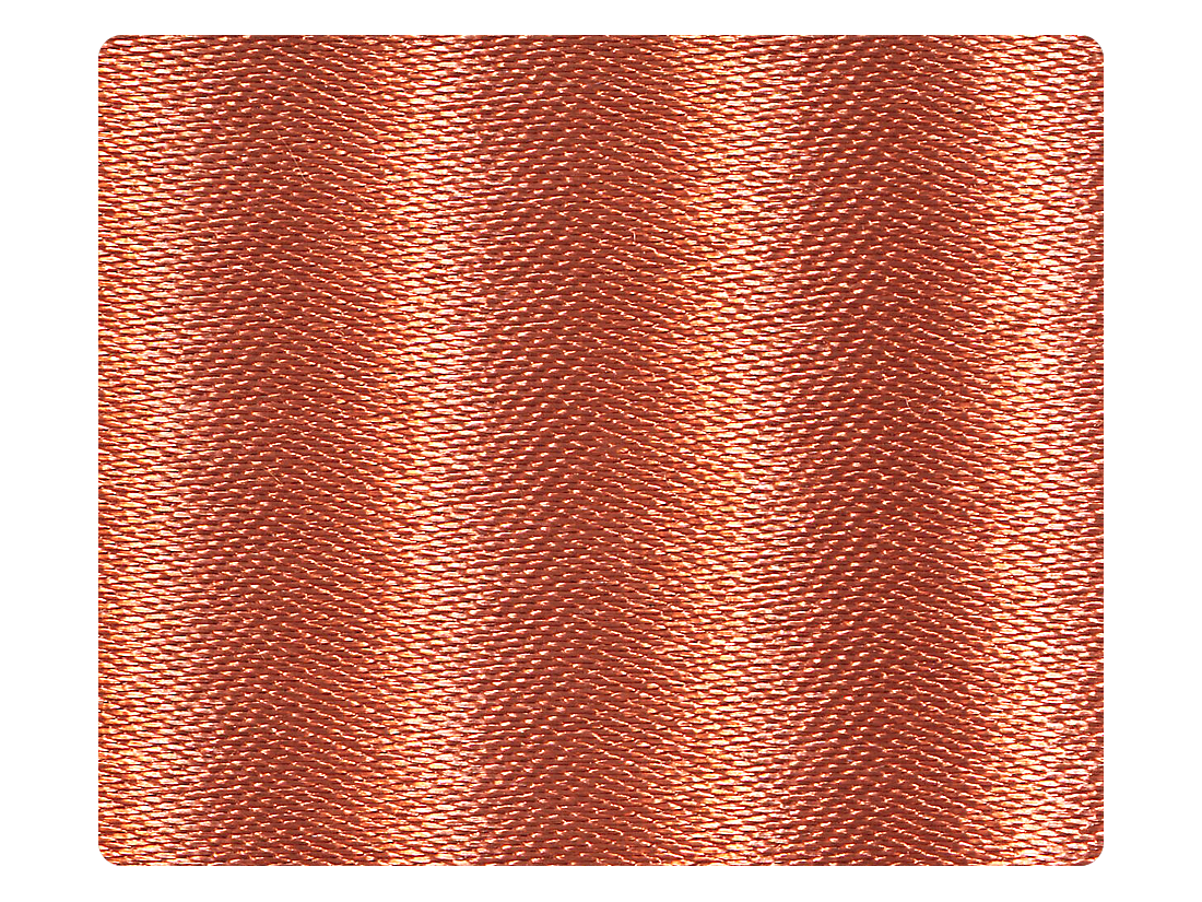 212 Dark Tan Satin Fabric Swatch