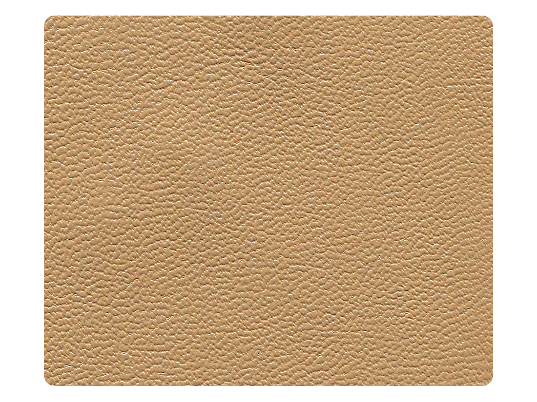 220 Beige Brown Leather (Microfiber) Fabric Swatch