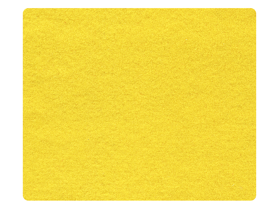 248 Yellow Velvet Fabric Swatch