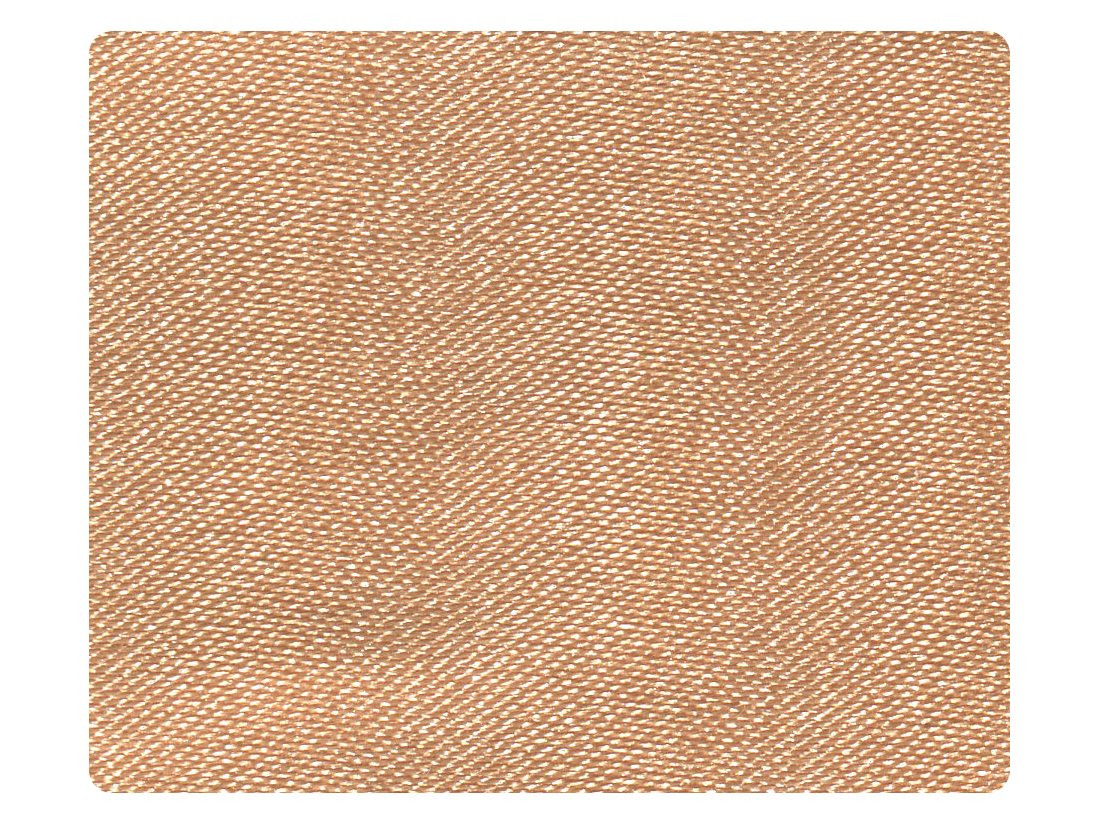 283  Light Brown Satin Fabric Swatch
