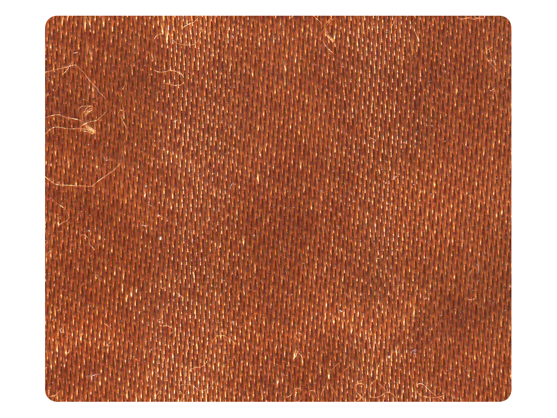 301 Copper Tan Satin Fabric Swatch