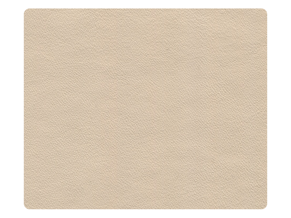 302 Light Beige Leather (Microfiber) Fabric Swatch