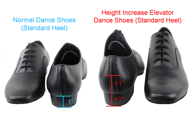 Height Increase Elevator Dance Shoes