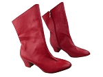 VFBoot PP205A Ankle Boot Red Leather