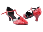SERA3551 Red Croc & Black Trim
