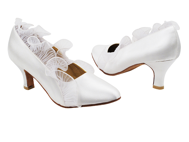 SERA5517 White Satin with 2.5