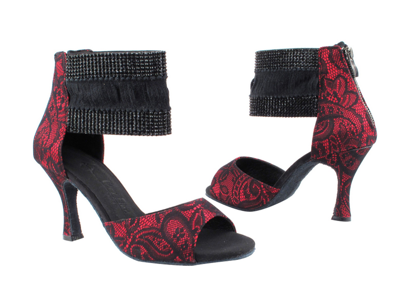 SERA7003ESS Red_Black Lace with 3