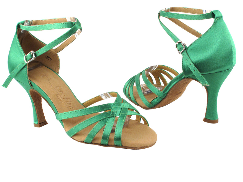 SERA2613 Green Satin with 3