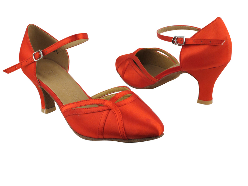 SERA3540 Red Satin with 2.5