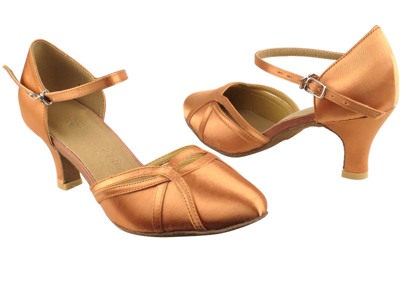 SERA3540 Tan Satin with 2.5