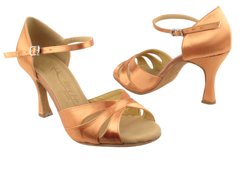 SERA3840 Tan Satin with 3