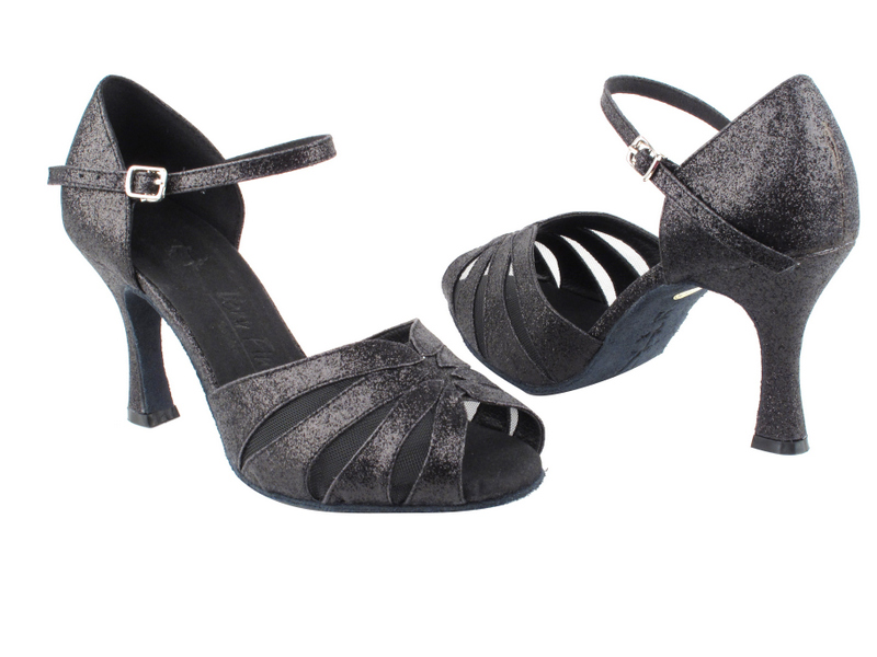 SERA3850 Black Stardust & Black Mesh with 3
