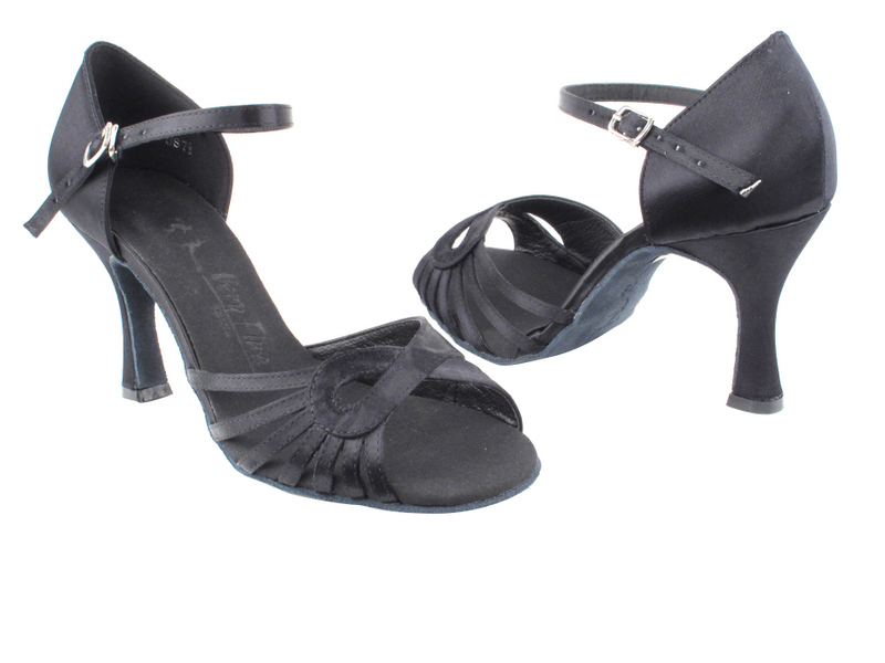 SERA3870 Black Satin with 3