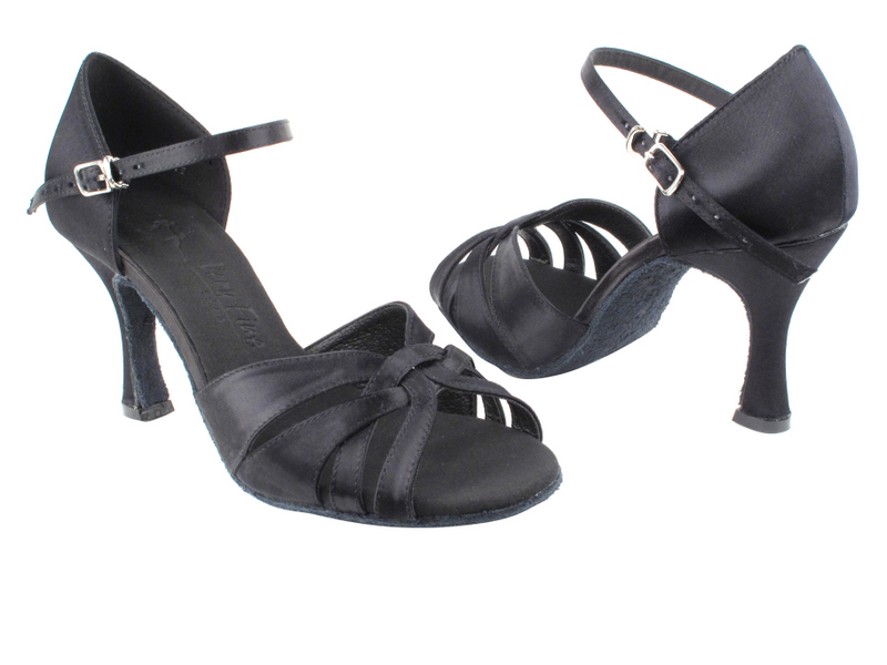 SERA6721 Black Satin with 3