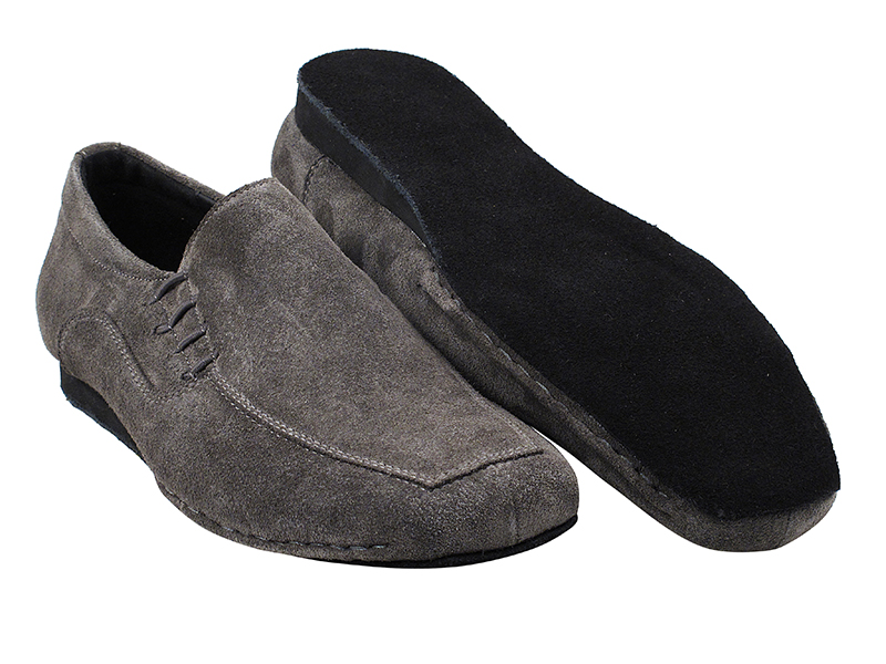 SERO102BBX Grey Suede with flat heel in the photo