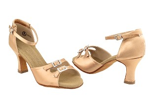 C1620 Tan Satin Vegan