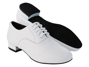 "C919101 White Leather with 1"" heel in the photo"