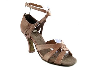 1658 Brown Satin