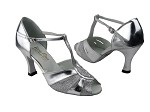 2702 Silver Stardust & Silver Leather