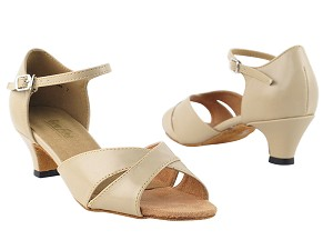 "6029 Tan Leather with 1.3"" Heel in the photo"