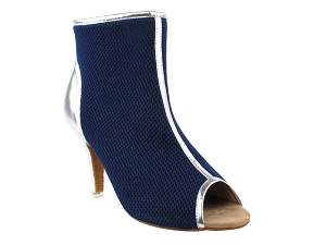 "CD3028 Blue_Silver 3"" Stiletto Heel in the photo"