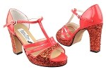 1683Platform Red Sparkle_H_Red Patent