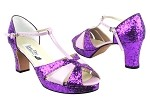 6006Platform Purple Sparkle_Light Purple Leather