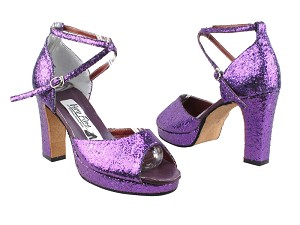 6012Platform Purple Sparkle