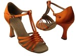 S92319 Orange Tan Satin