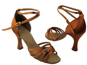 S92327 Dark Tan Satin
