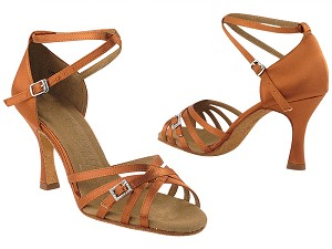 SERA1137 Dark Tan Satin