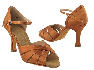 SERA1311 Dark Tan Satin