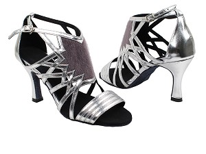 "SERA7016 Silver with 3"" heel in the photo"