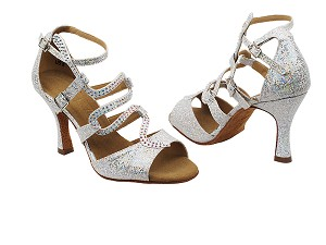 "SERA7017 Silver with 3"" heel in the photo"