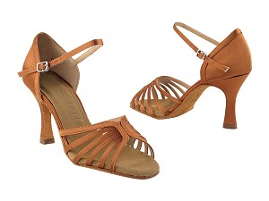 SERA1135 Dark Tan Satin