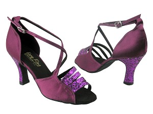 1651 11 Purple Sparkle & 111 Purple Satin
