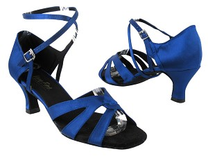 1658 247 Gem Blue Satin