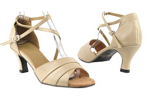 "1659 60 Tan PU with 2.5"" Heel in the photo with 2.5"" Heel in the photo"