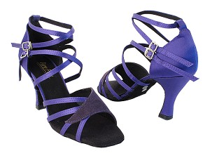 1662b Purple Satin_281 Purple Suede